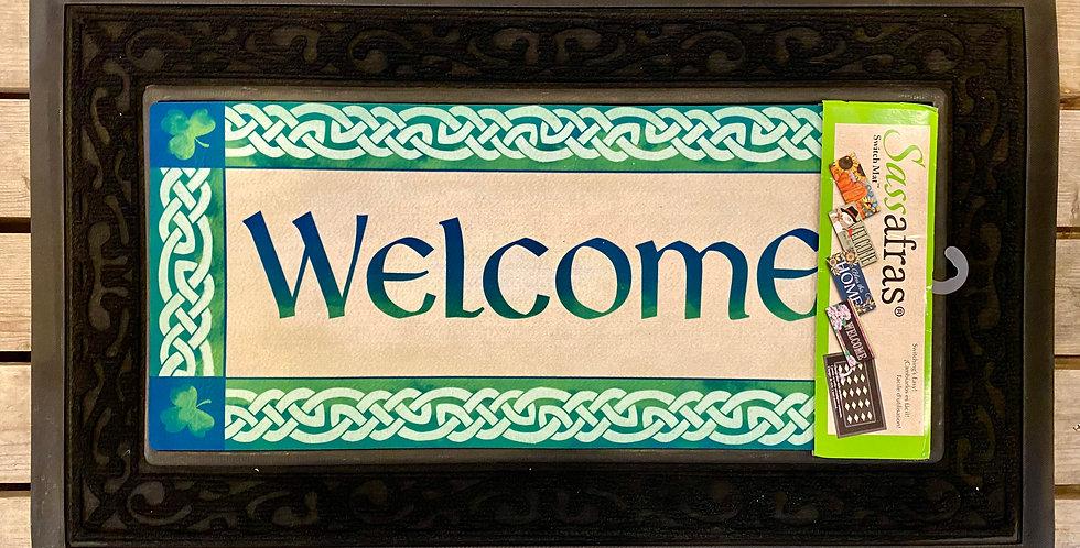 Irish Welcome Sassafras Switch Mat