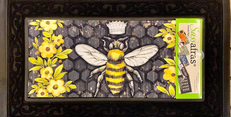 Bee Happy Queen Bee Sassafras Switch Mat