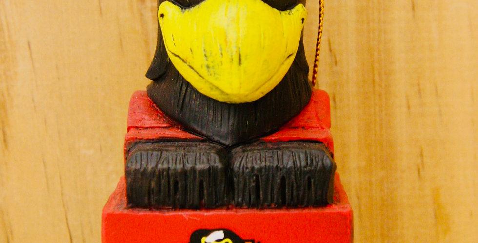 Mascot Ornament- Chicago Blackhawks