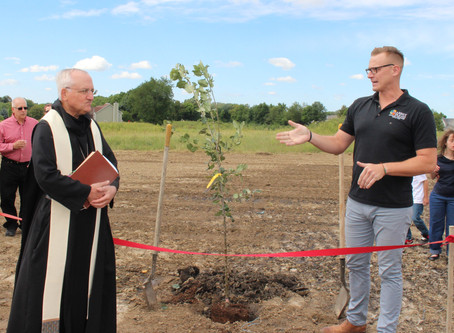 Give the Gift of Sharing: Abbey Farms' Apple Orchard Is a Step Closer to Reality