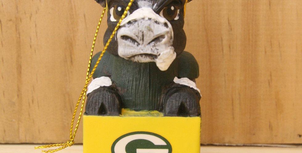 Mascot Ornament- Green Bay Packers
