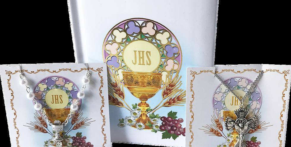 Girls's Communion 3 Piece Gift Set