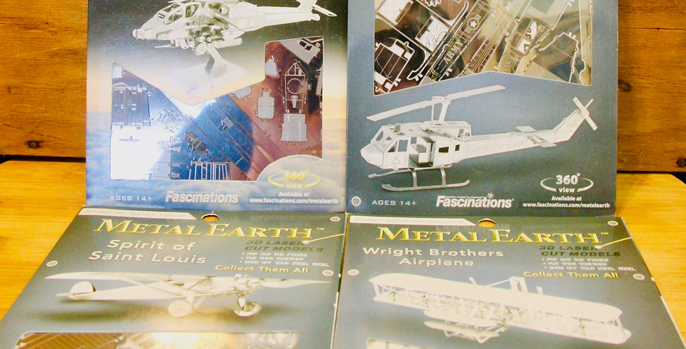 Metal Earth: Flying Machines!