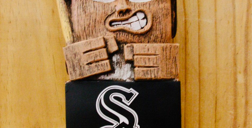 "12"" Tiki Totem - White Sox"