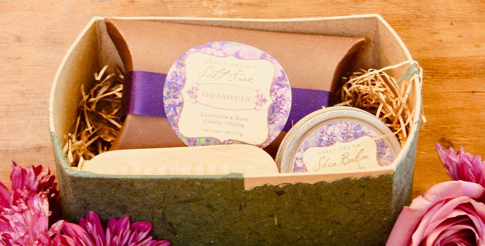 Abbey Farms Large Soap Gift Box