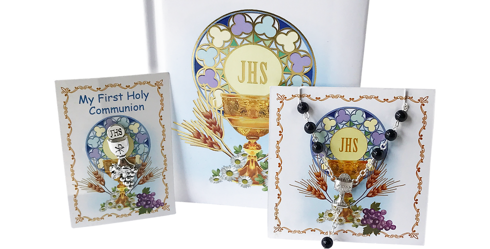 Boy's Communion 3 Piece Gift Set