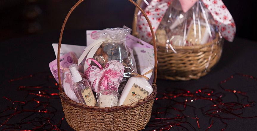 Sweetheart Spa Gift Basket