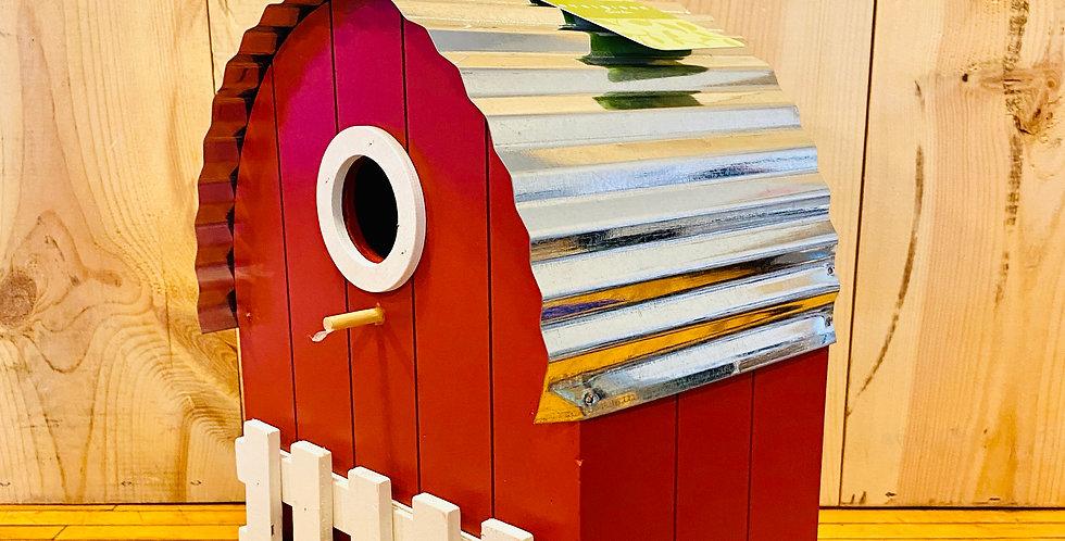 "10.5"" Farmhouse Birdfeeder"