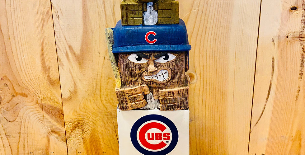 "18"" Tiki Totem- Chicago Cubs"