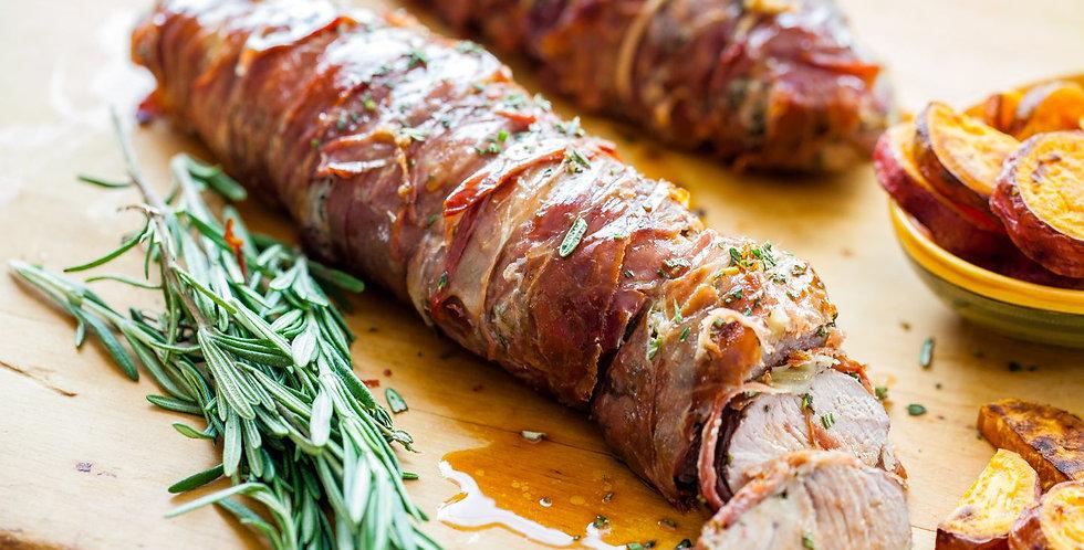 February 14th Prosciutto & Herb Pork Loin Dinner! GF