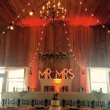 Uplights and romantic lights