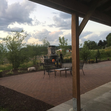 The patio from a different angle