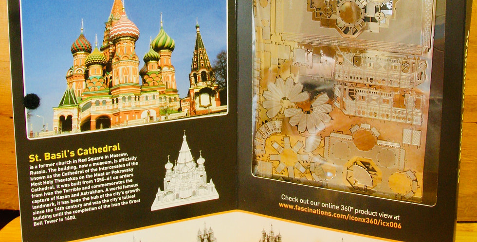 Metal Earth: Saint Basil's Cathedral