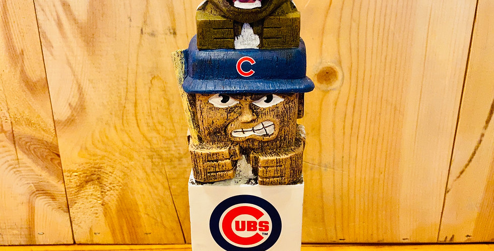 "12"" Tiki Totem- Chicago Cubs"