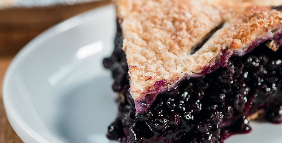 Whole Blueberry Pie