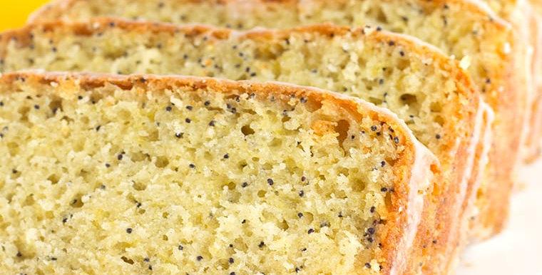Abbey Farms Lemon Poppyseed Bread