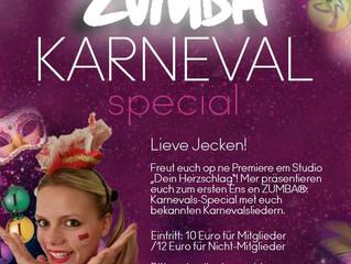 ZUMBA® Karneval - Special mit Fidi an!