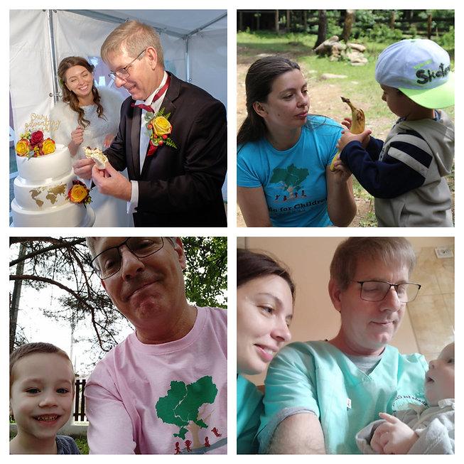 Collage of Shade for Children loving children