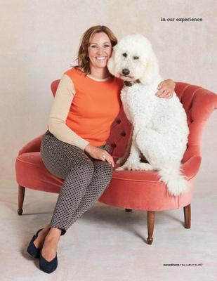 woman & home pets