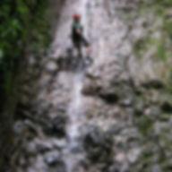 cayoneering in La Fortuna