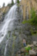 palisades water fall montana