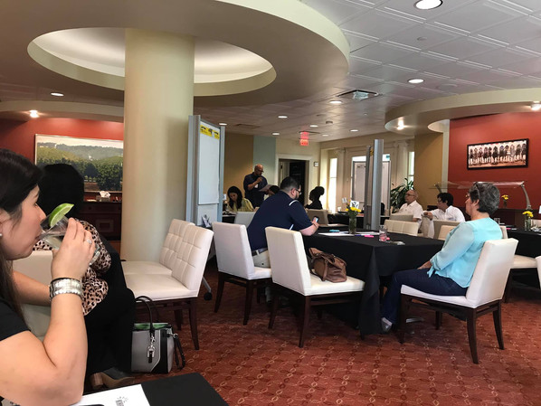 Kentuckiana Hispanic Council meeting at Brown Forman