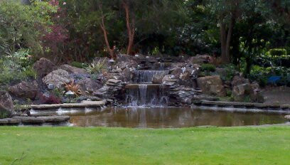 After photo of pond