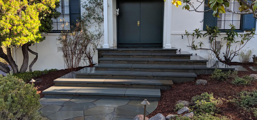 Front pathway