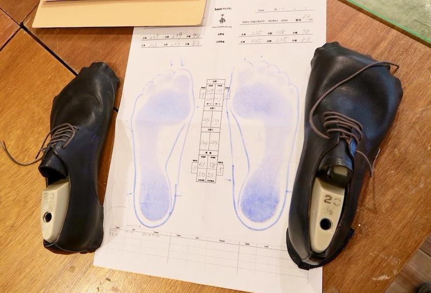 持っている靴を履きやすくリメイク