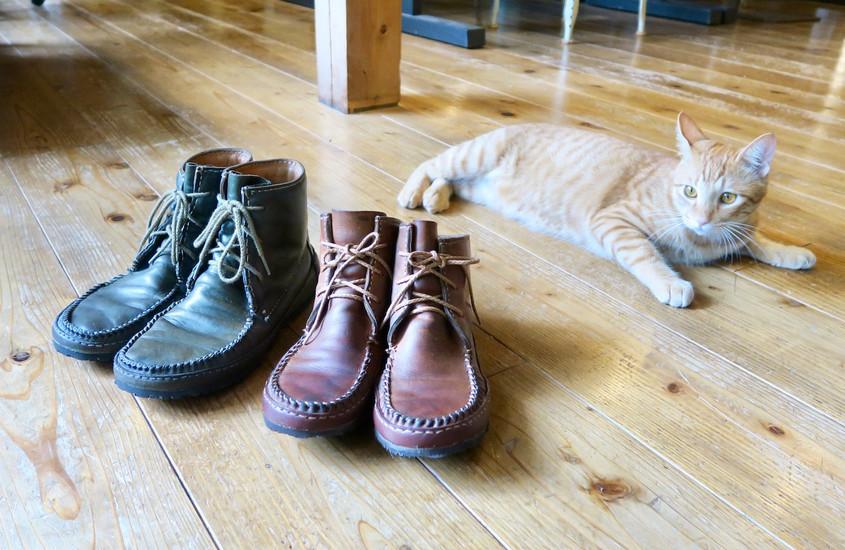 8年後の靴リメイク