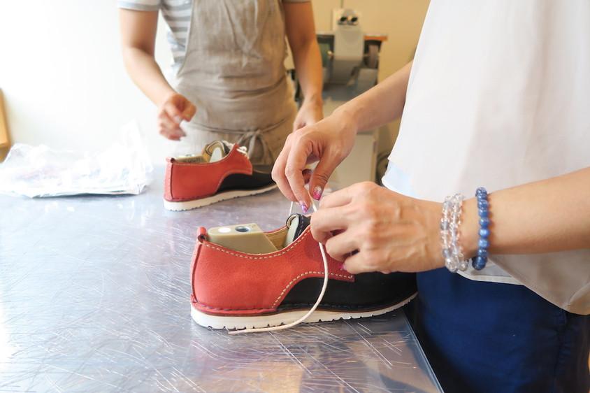 今日の手作り靴教室 〜東京〜