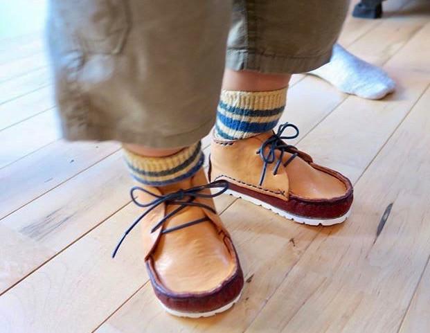 子供靴のサイズ調整