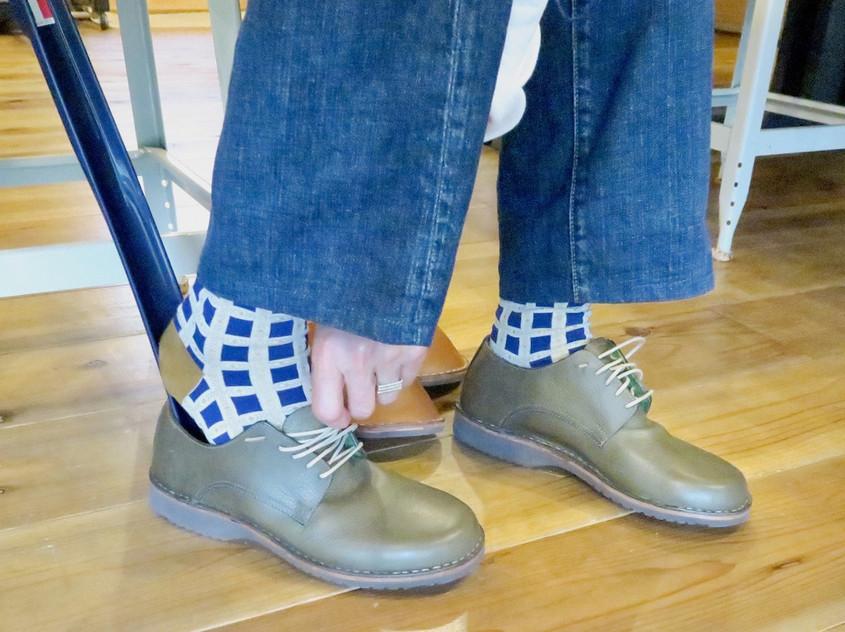 靴と足と身体のための1分間