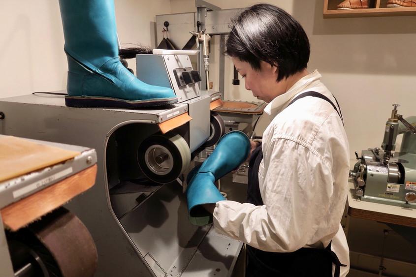 今日の手作り靴教室〜TOKYO〜