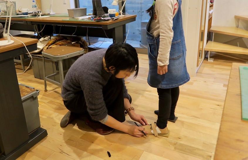 手作り子供靴