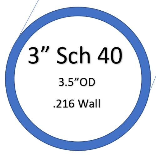 """3"""" SCH40 SilverBack Elbows"""