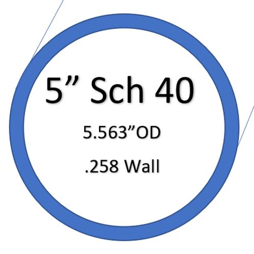 """5"""" SCH40 SilverBack Elbows"""