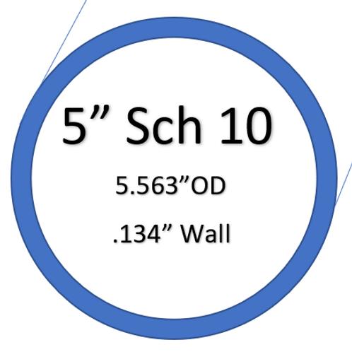 """5"""" SCH10 SilverBack Elbows"""