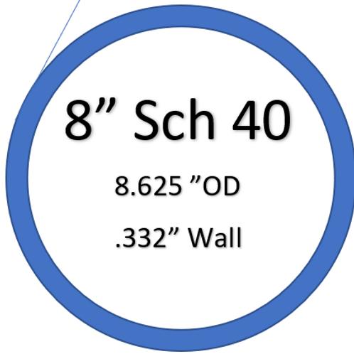 """8"""" SCH 40"""