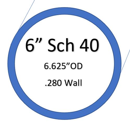 """6"""" SCH40 SilverBack Elbows"""