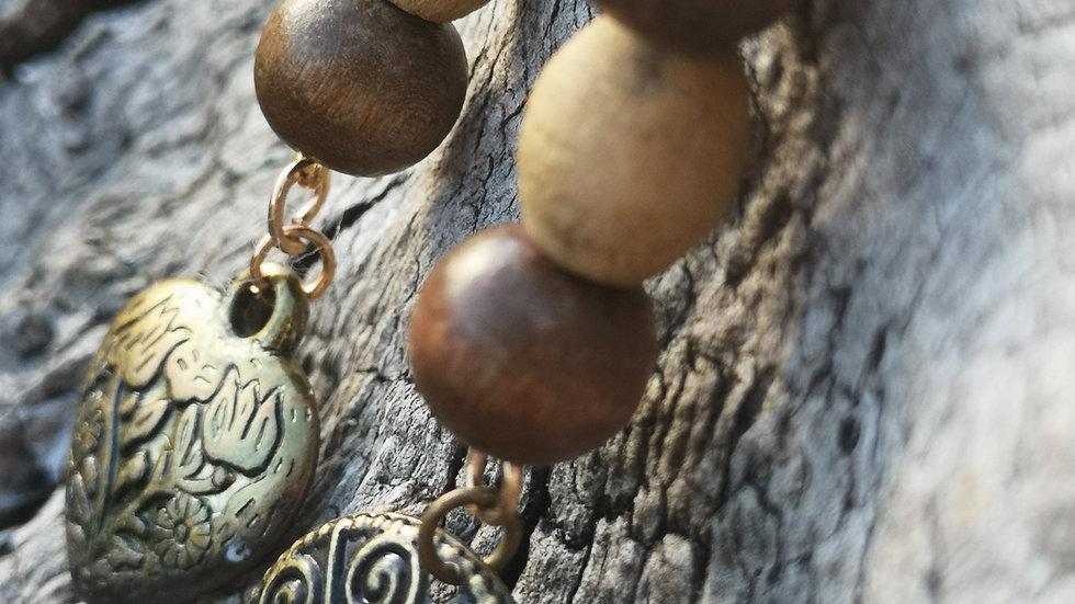 Ethnic tribal dangle earrings