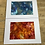 Thumbnail: Fire and Ice.. set of 2 paintings
