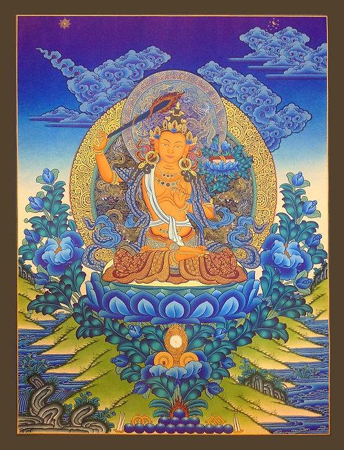 Buy Tibetan Thangka, What is Tibetan Thangka, Buy Thanka Online, Om Mani Padme Hum Mandala, Thangka Painting Online