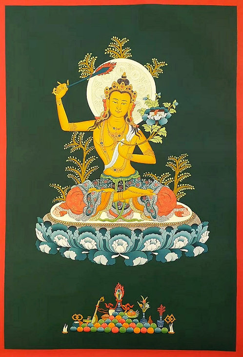 Manjushree Thangka - Newa Art