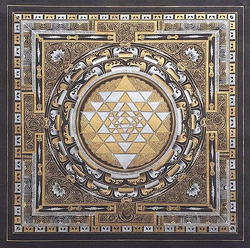 Sri Yantra Mandala Thangka