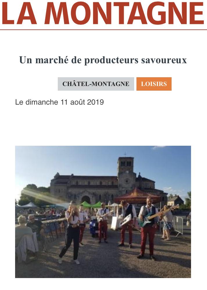 La Montagne du 11/08/2019