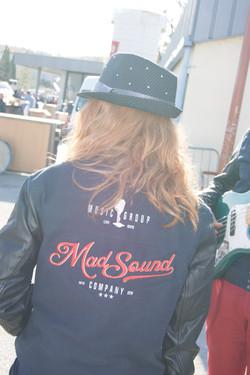 MadSound - Logo veste