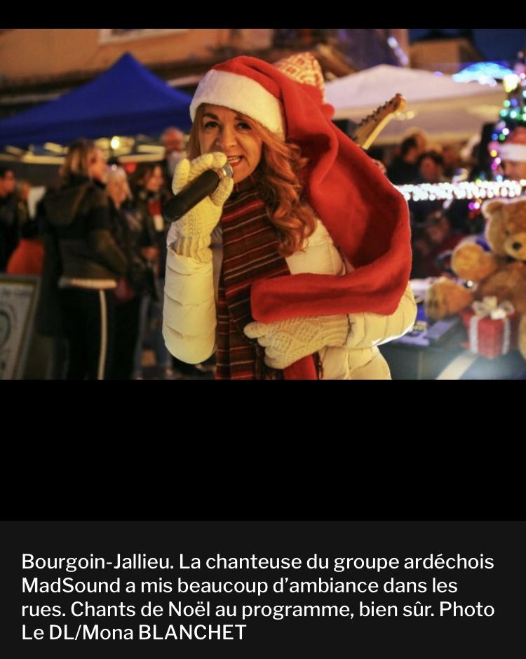 Dauphiné Libéré du 09/12/2019