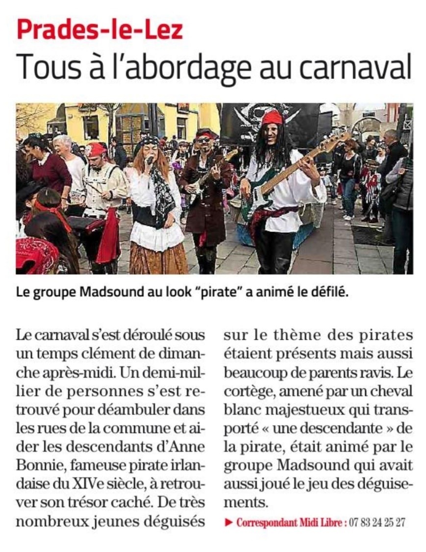 Midi Libre du 09/03/2020