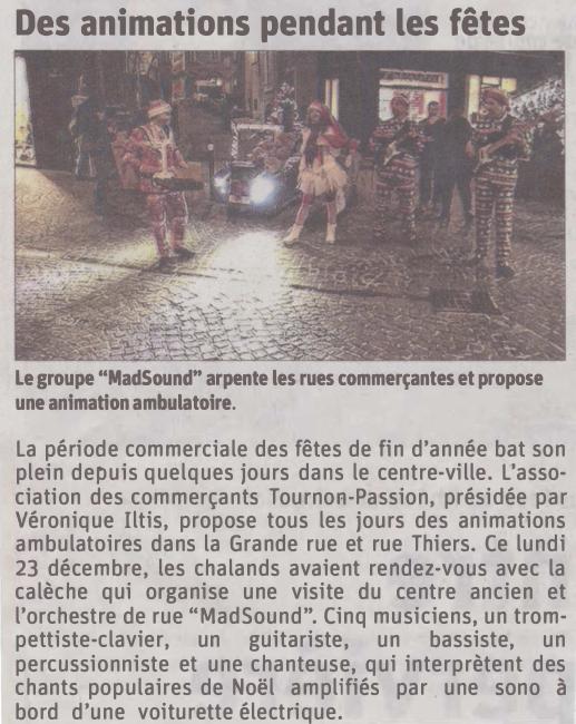 Dauphiné Libéré du 24/12/2019